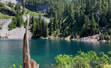 Lake Melakwa in the Cascade Mountains